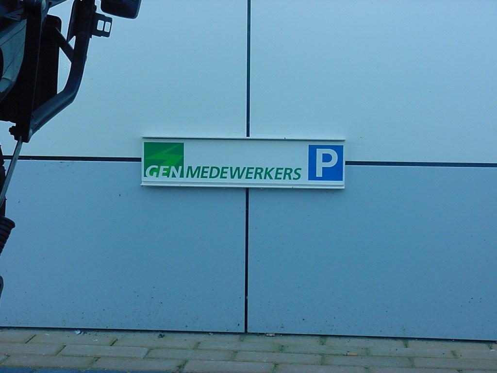 parkeerbordjes